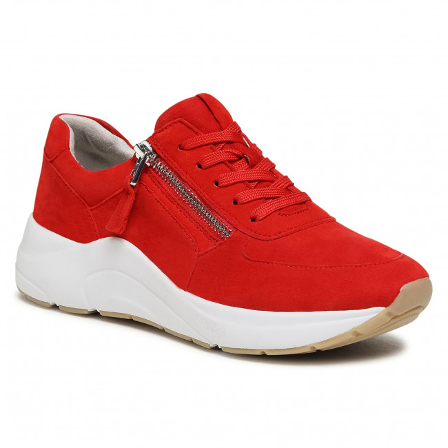 Sneakersy CAPRICE - 9-23715-26 Red Suede 524