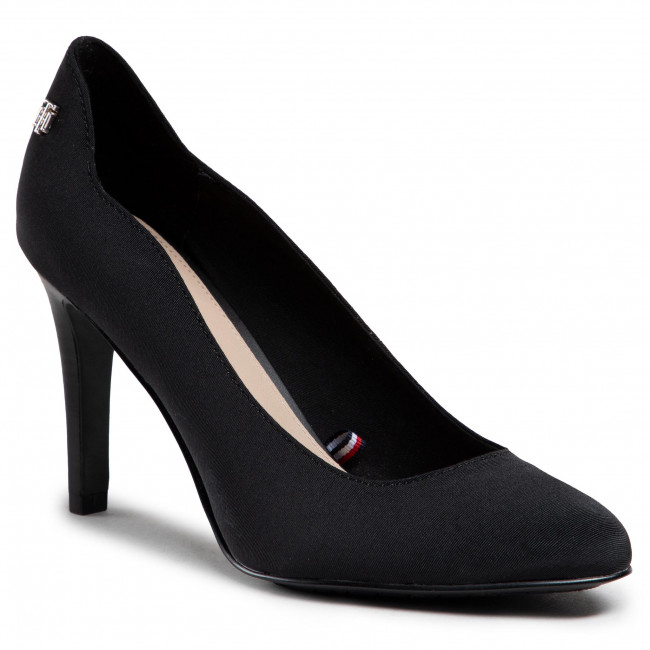 Szpilki TOMMY HILFIGER - Tommy Essential High Heel Pump FW0FW05644 Black BDS
