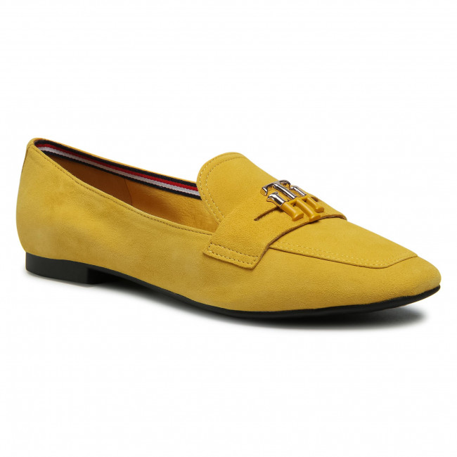 Lordsy TOMMY HILFIGER - Essential Hardware Loafer FW0FW05645 Tuscan Yellow ZFZ