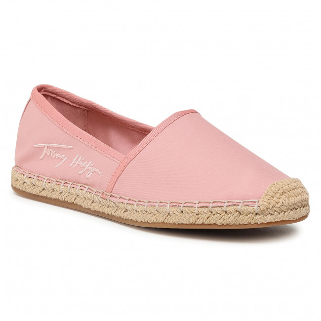 Espadryle TOMMY HILFIGER - Th Signature Espardille FW0FW05649 Soothing Pink TQS
