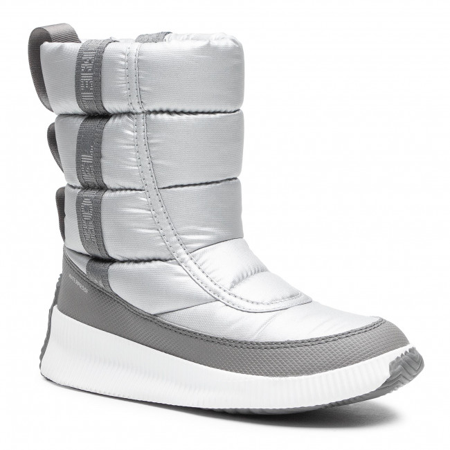 Śniegowce SOREL - Out N About Puffy Mid NL3394 Pure Silver 034