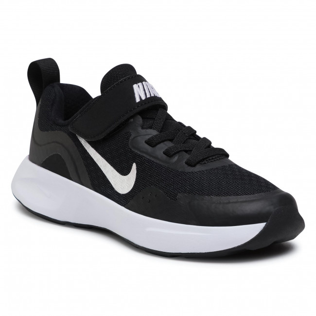 Buty NIKE - Wearallday (PS) CJ3817 002 Black/White