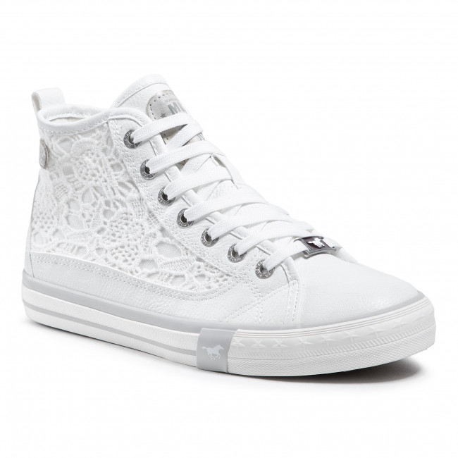 Sneakersy MUSTANG - 1146-507-1 Weiss