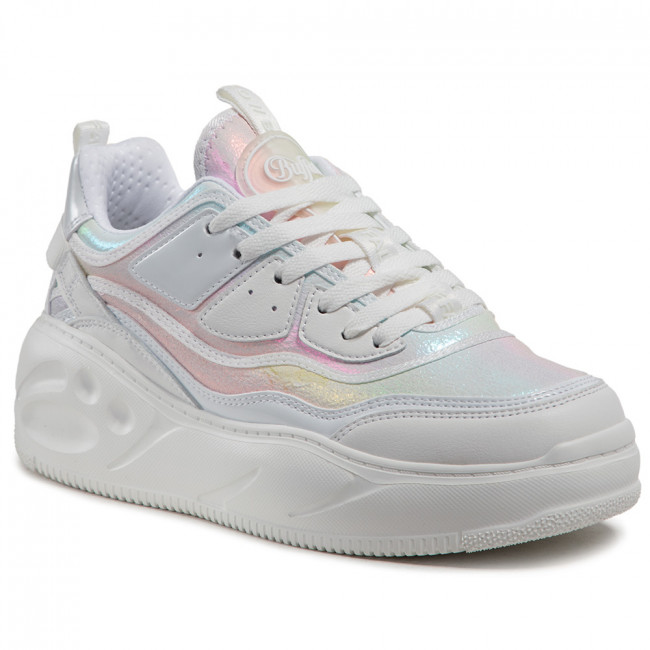 Sneakersy BUFFALO - Flat Cpx 1630467  White/Mermaid