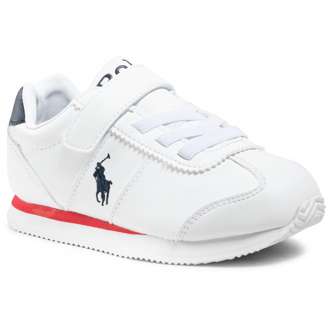Sneakersy POLO RALPH LAUREN - Pony Jogger Ps RF102915  White/Navy