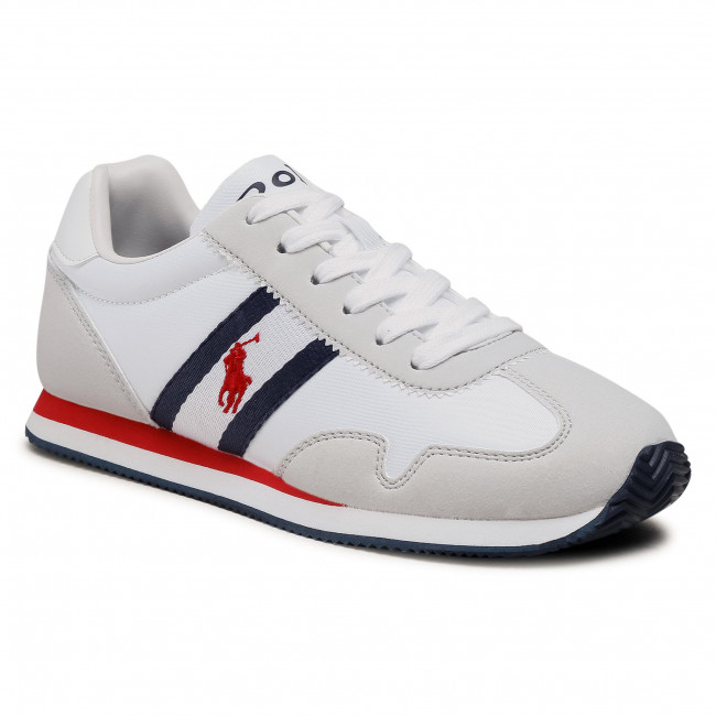 Sneakersy POLO RALPH LAUREN - Kelland RF102917 White/Ltgry/Nvy