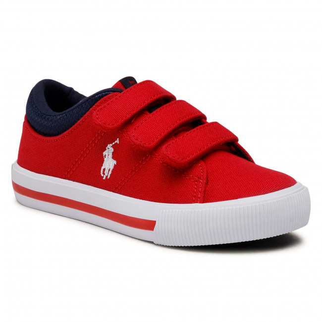 Tenisówki POLO RALPH LAUREN - Elmwood Ez RF102963 S Red/White
