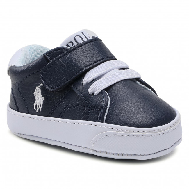 Sneakersy POLO RALPH LAUREN - Theron IV Ps RL100567 Navy/White