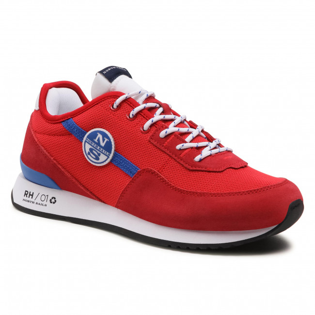 Sneakersy NORTH SAILS - RH/01 Recy -056 Red