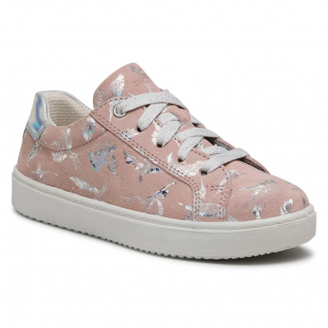 Sneakersy SUPERFIT - 1-009488-5500 S Rosa/Silber