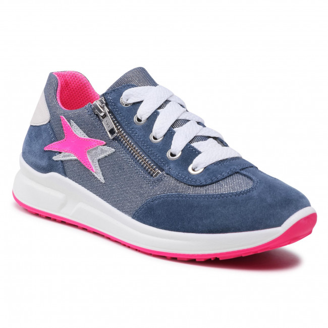Sneakersy SUPERFIT - 1-006155-8000 D Blau/Rosa