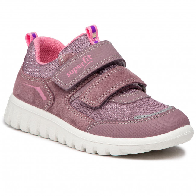 Sneakersy SUPERFIT - 1-006194-8500 S Lila/Rosa
