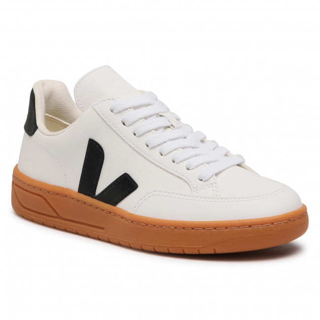 Sneakersy VEJA - V-12 Easy XD052346A Extra White/Black/Gum Sole
