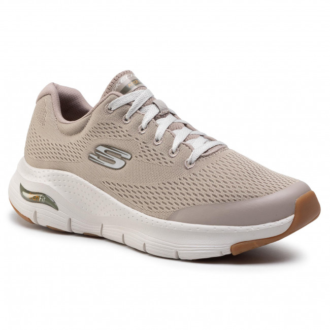 Sneakersy SKECHERS - Arch Fit 232040/TPE Taupe