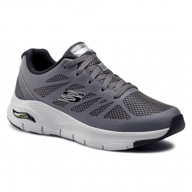 Buty SKECHERS - Arch Fit 232042/CCBK Charcoal/Black