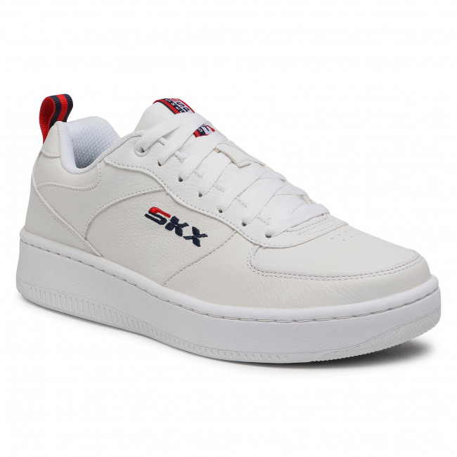 Sneakersy SKECHERS - Sport Court 92 237188/WNVR White/Navy/Red
