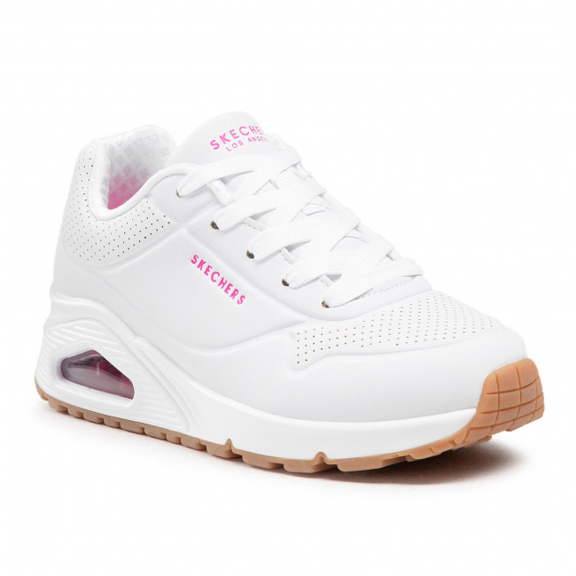 Sneakersy SKECHERS - Stand On Air 310024L/WHP White/H.Pink