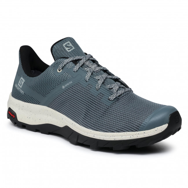 Trekkingi SALOMON - Outline Prism Gtx GORE-TEX 412333 26 M0 Stormy Weather/Vanilla Ice/Black