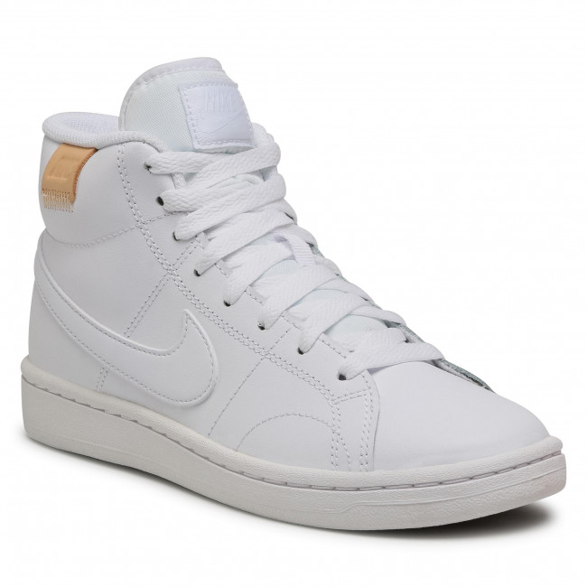 Buty NIKE - Court Royale 2 Mid CT1725 100 White/White