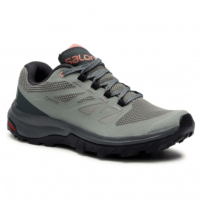 Trekkingi SALOMON - Outline Gtx W GORE-TEX 407969 20 M0 Shadow/Urban Chic/Coral Almond
