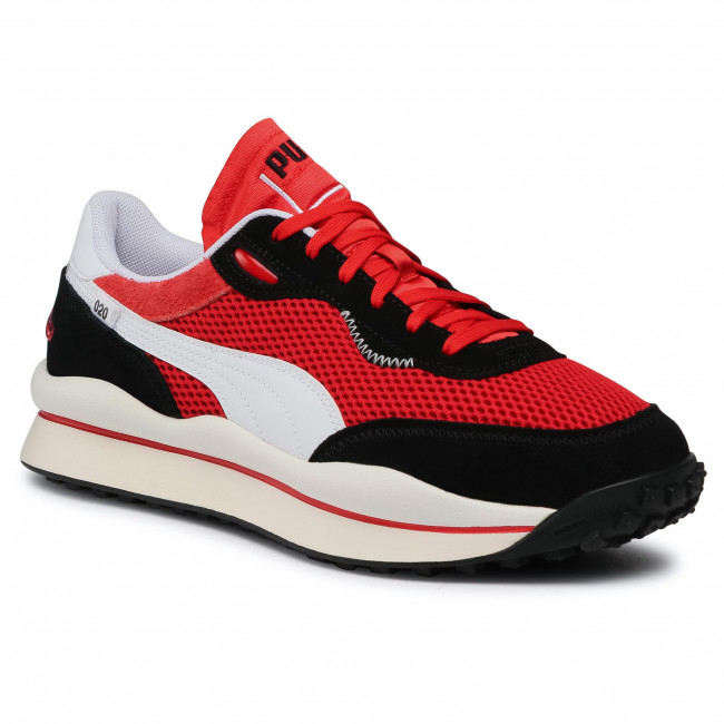 Sneakersy PUMA - Style Rider Stream On 371527 01 HighRisk Red/P.Black/P.White