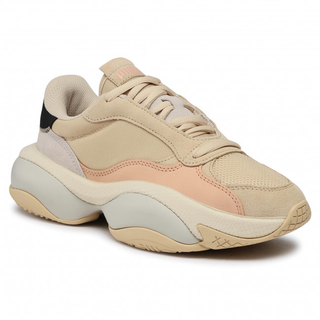 Sneakersy PUMA - Alteration Premium Leather 371597 2 Pebble/Pink Sand