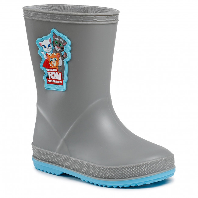 Kalosze COQUI - Rainy 8505-605-4818 Grey/New Blue