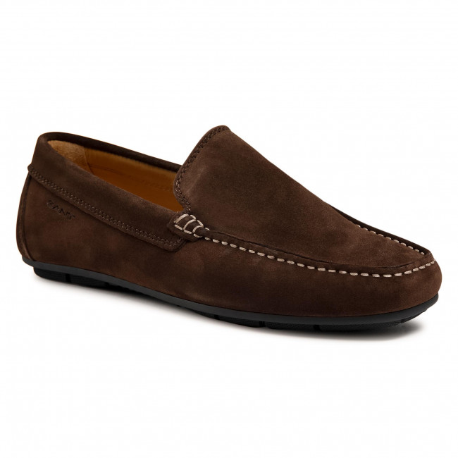 Mokasyny GANT - Mc Bay 22633651 Dark Brown G46