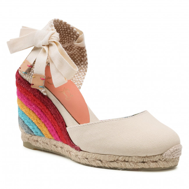 Espadryle CASTAÑER - Castañer by Paul Smith Carina PS/8/001 22342203 Ivory