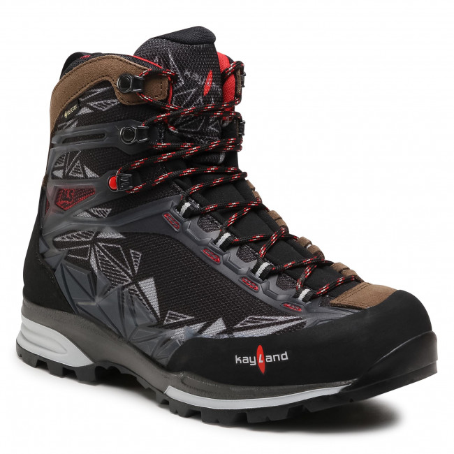 Trekkingi KAYLAND - Cross Ground Gtx GORE-TEX 018020500 Dark Brown