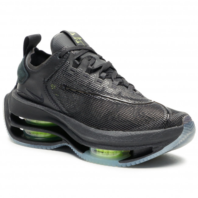 Buty NIKE - Zoom Double Stacked CI0804 001 Black/Volt/Black