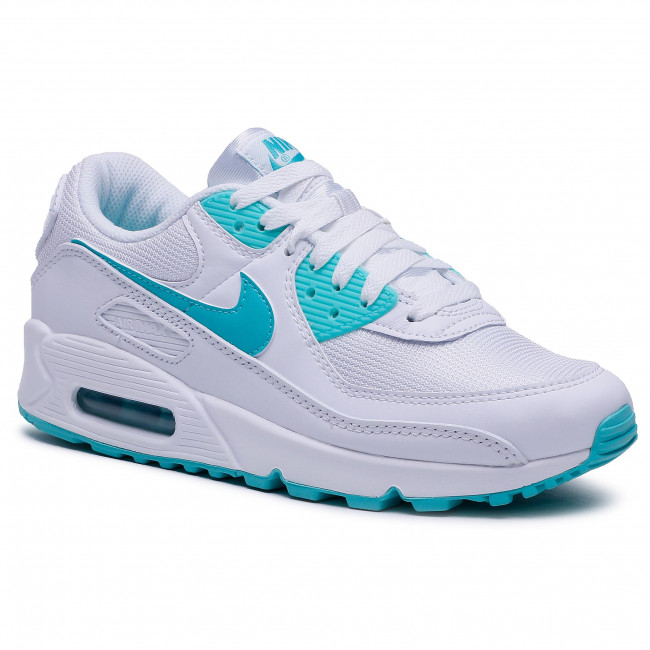Buty NIKE - Air Max 90 CT1028 102 White/Hyper Jade/Black