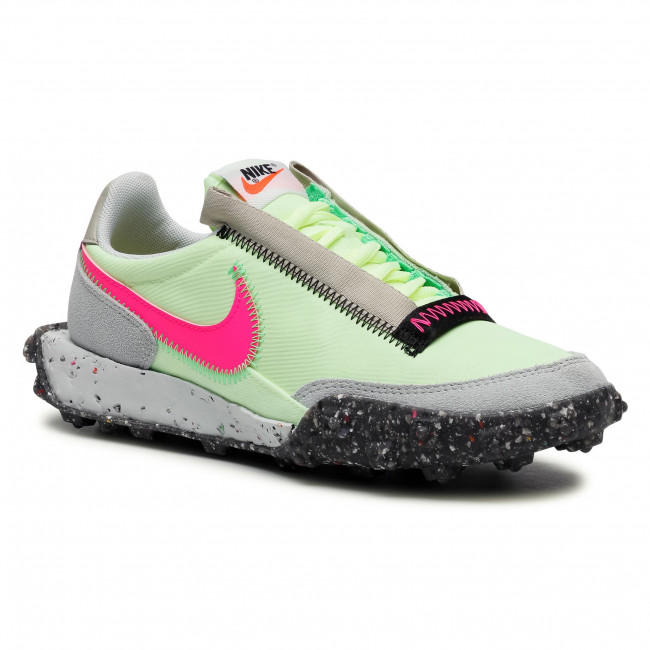 Buty NIKE - Waffle Racer Crater CT1983 700 Barely Volt/Pink Blast/Black
