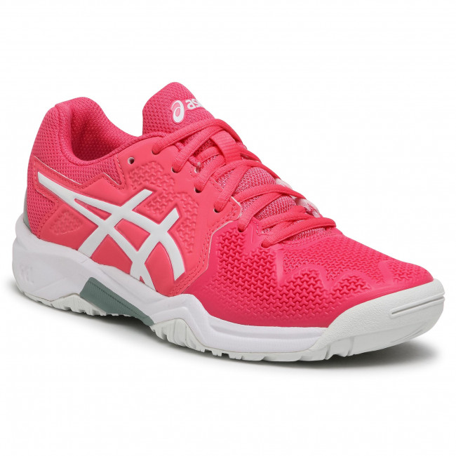Buty ASICS - Gel-Resolution 8 GS 1044A018 Pink Cameo/White 702