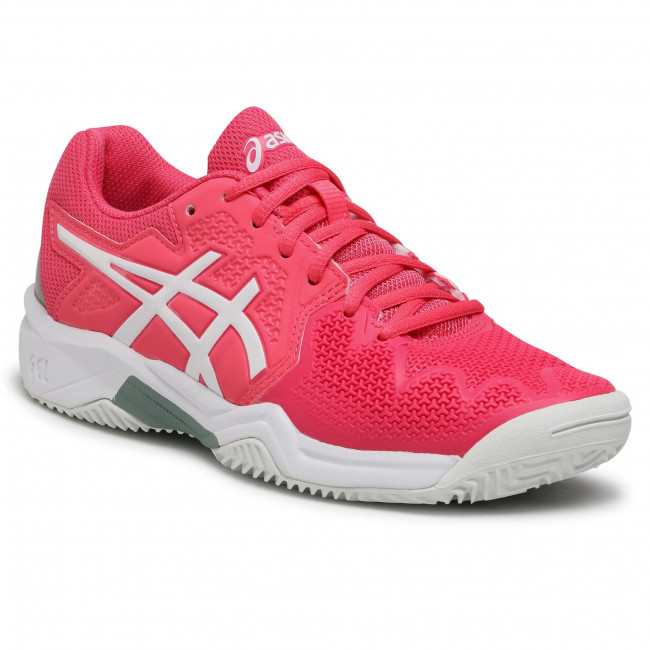 Buty ASICS - Gel-Resolution 8 Clay Gs 1044A019  Pink Cameo/White 702