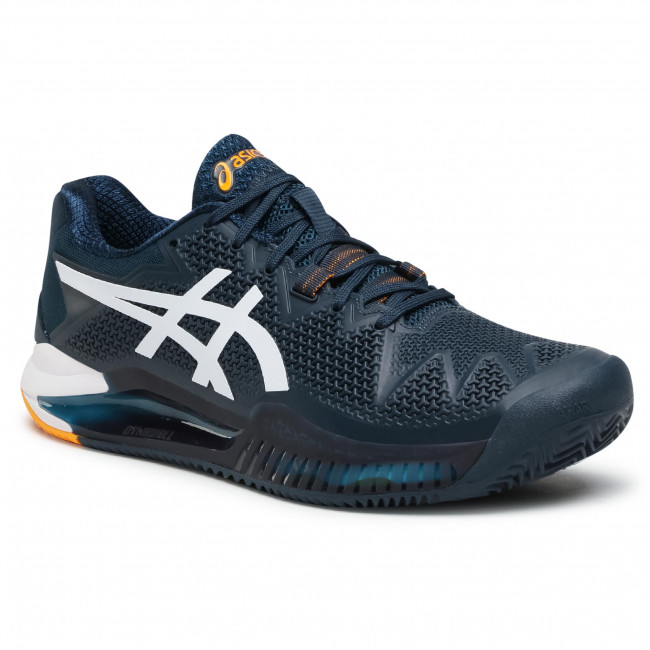 Buty ASICS - Gel-Resolution 8 1041A076 French Blue/White 403