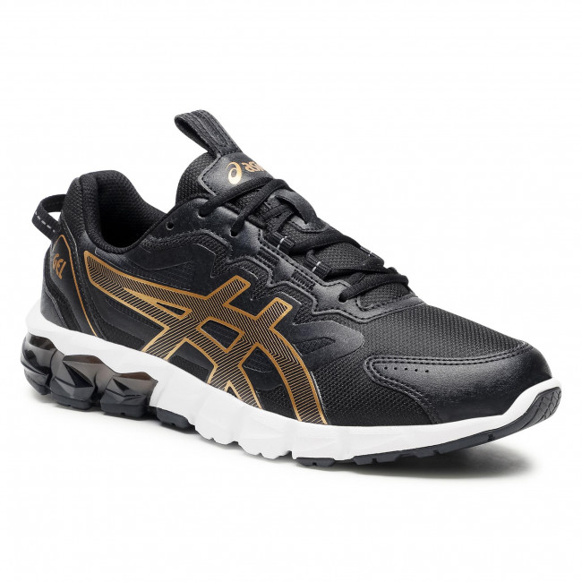 Sneakersy ASICS - Gel-Quantum 90 1201A064 Black/Pure Gold 002