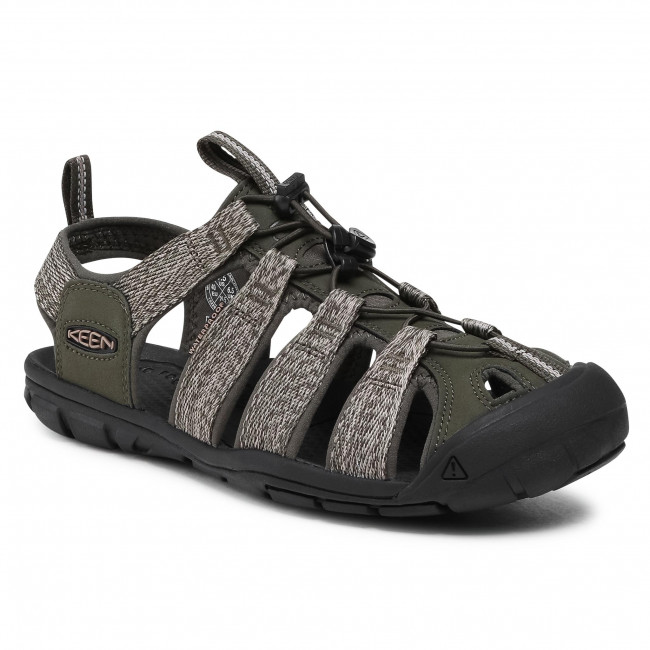 Sandały KEEN - Clearwater Cnx 1022961 Forest Night/Black