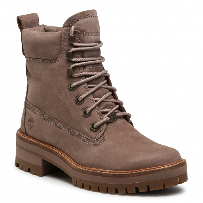 Trapery TIMBERLAND - Courma Yeur Valley Yb TB0A1RQX9291 Taupe Nubuck