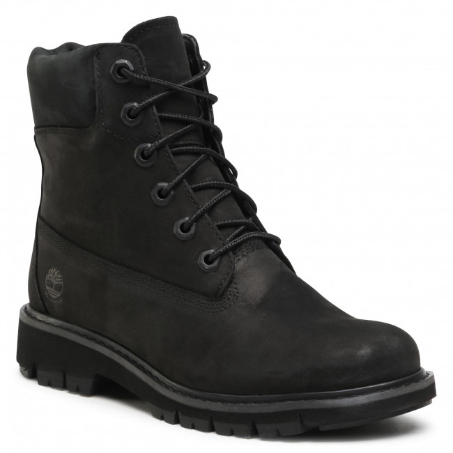 Trapery TIMBERLAND - Lucia Way 6 In Waterproof Boot TB0A1SC4001 Black Nubuck