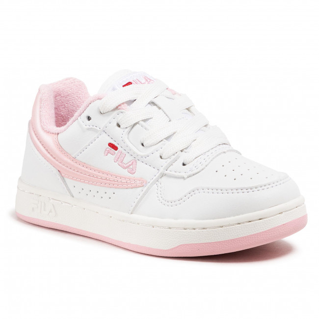 Sneakersy FILA - Arcade Low Kids 1010787.94F White/Coral Blush