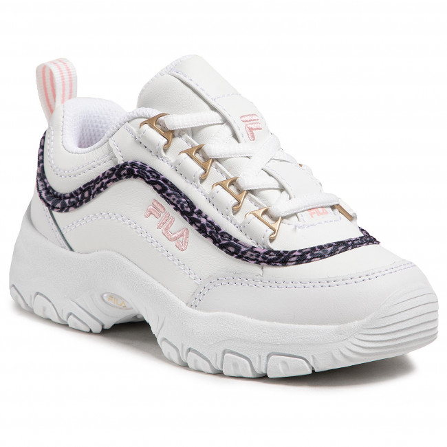 Sneakersy FILA - Strada A Low Jr 1011251.94F White/Coral Blush