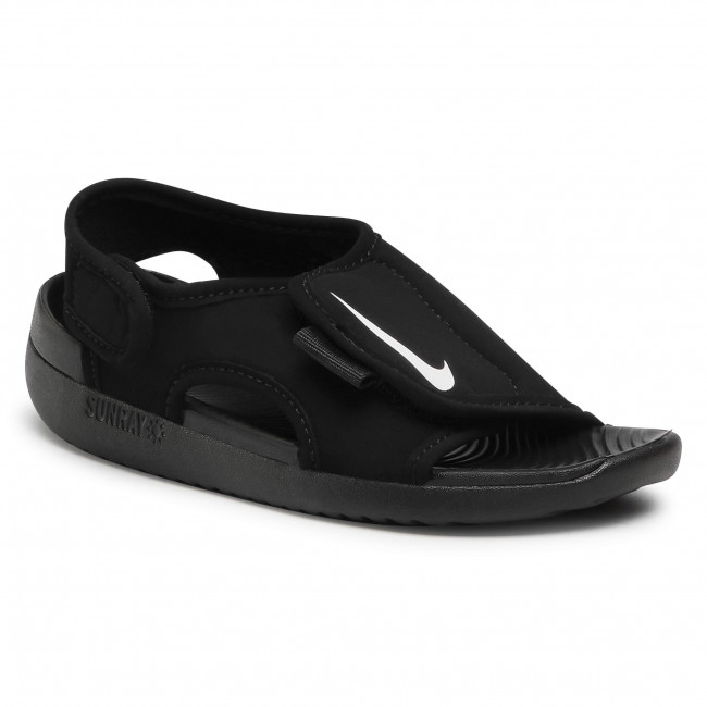 Sandały NIKE - Sunray Adjust 5 V2 (Gs/Ps) DB9562 001 Black/White