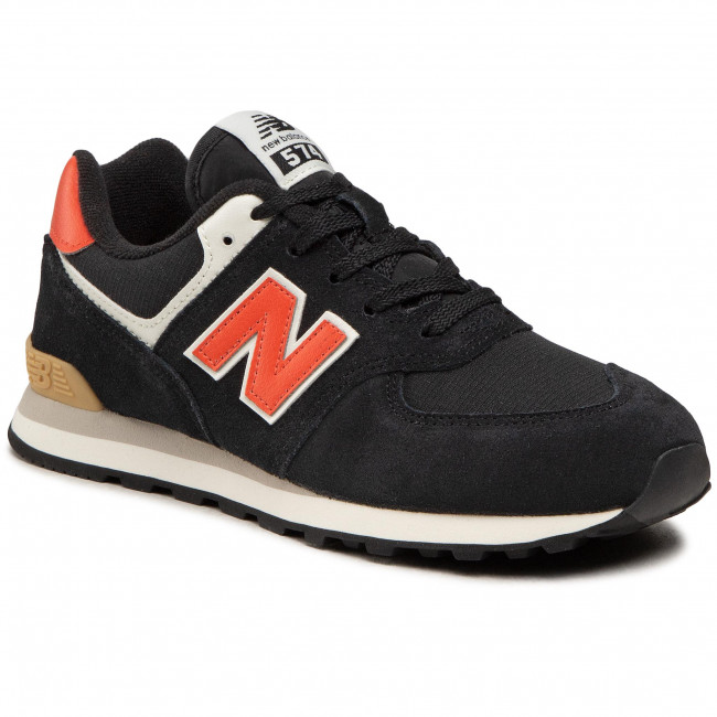 Sneakersy NEW BALANCE - GC574ML2  Czarny