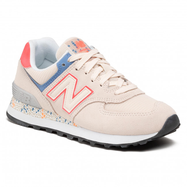 Sneakersy NEW BALANCE - WL574CL2 Beżowy