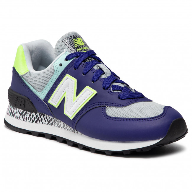 Sneakersy NEW BALANCE - WL574CT2 Fioletowy