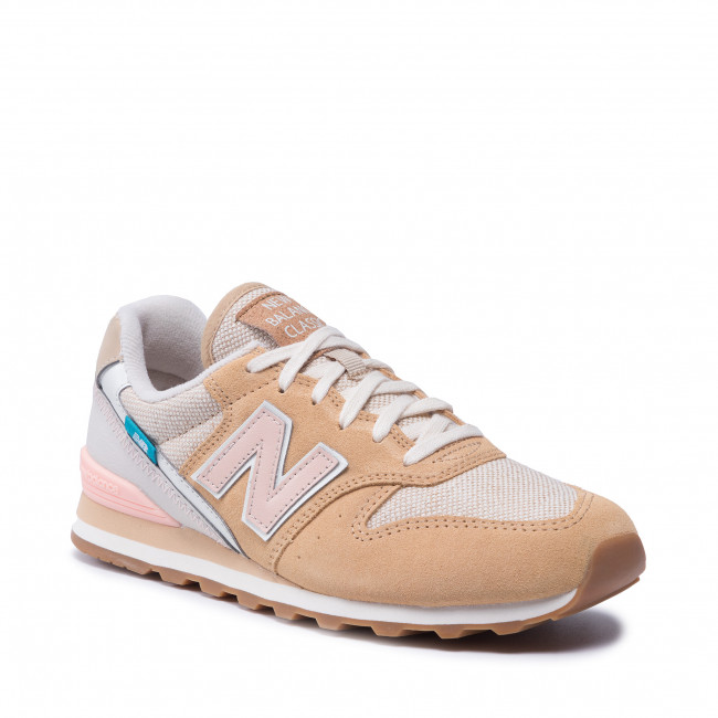 Sneakersy NEW BALANCE - WL996CPD  Beżowy