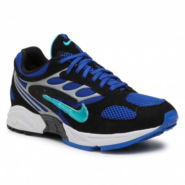Buty NIKE - Air Ghost Racer AT5410 001 Black/Hyper Jade/Racer Blue