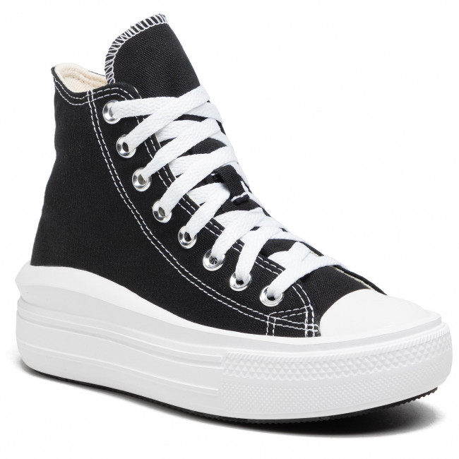 Trampki CONVERSE - Ctas Move Hi 568497C Black/Natural Ivory/White
