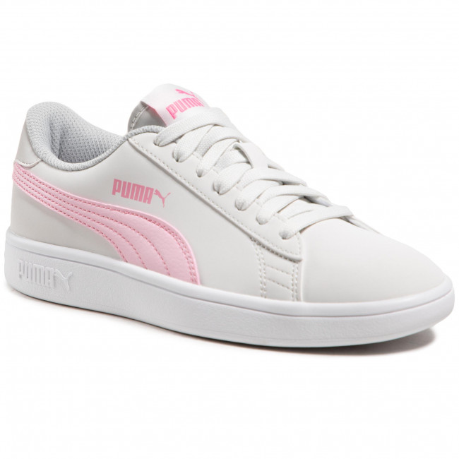 Sneakersy PUMA - Smash v2 Buck Jr 365182 27 Nimbus Cloud/Pink Lady